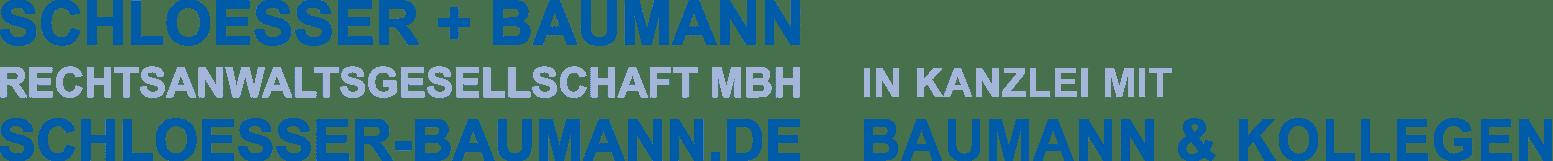 Schloesser und Baumann Rechtsanwaltsgesellschaft MBH